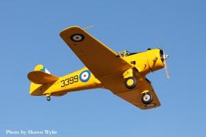 Yale 3399 in flight