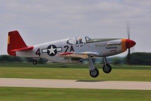 Shep in P51 at 30th