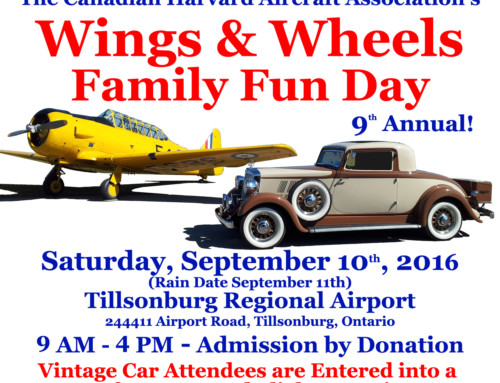 Wings & Wheels Family Fun Day a success!