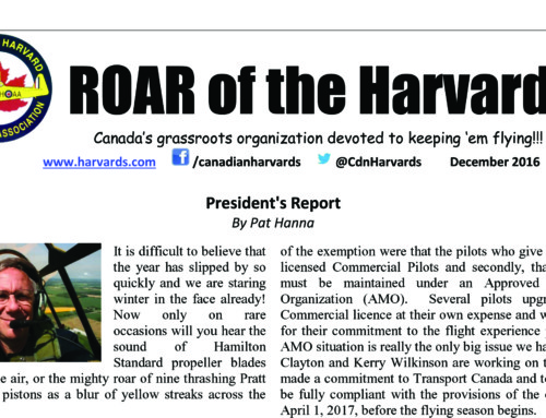 ROAR of the Harvard – December 2016 edition is here!